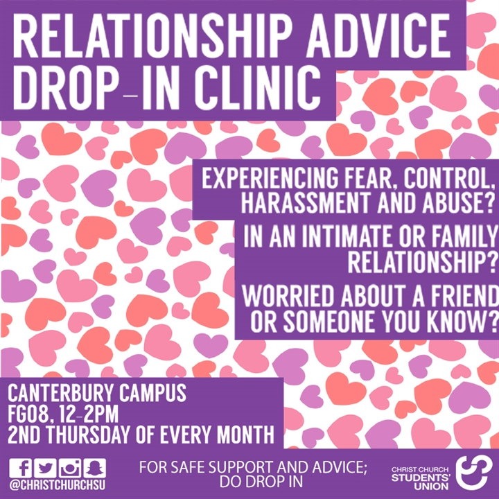 Relationship Advice Drop in Session