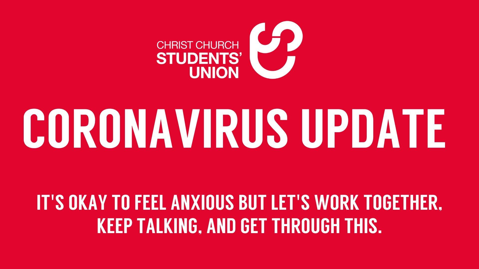 Coronavirus Update graphic