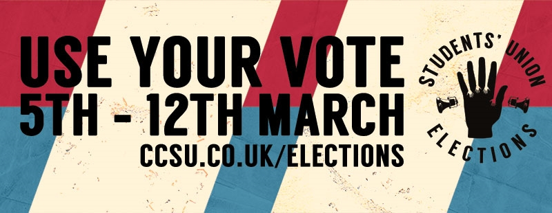Vote in our SU elections